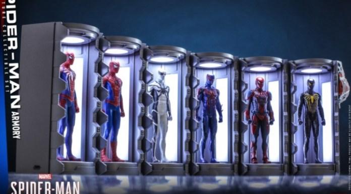 spider-man hot toys