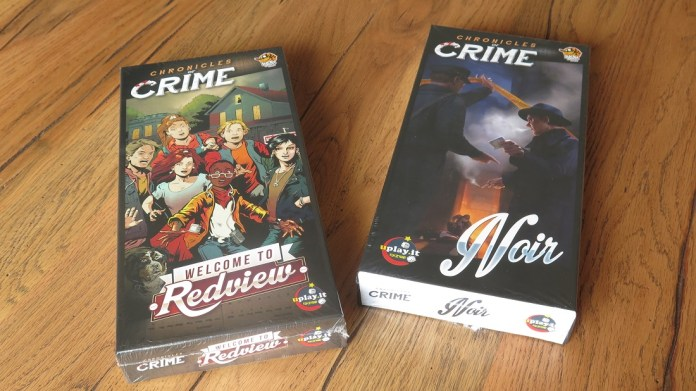 Chronicles of Crime boxes