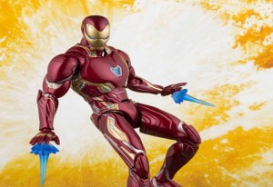 Avengers: Infinity War - Bandai svela  la S.H.Figuarts Iron Man Mark 50