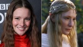Il Signore degli Anelli: Morfydd Clark  sarà Galadriel nella serie tv di Amazon Prime Video