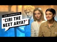 The Witcher: Anya Chalotra e Freya Allan rispondono ai commenti degli utenti IGN