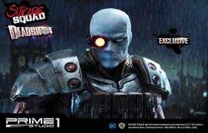 DC Comics Suicide Squad: da Prime 1 Studio la statua di Deadshot