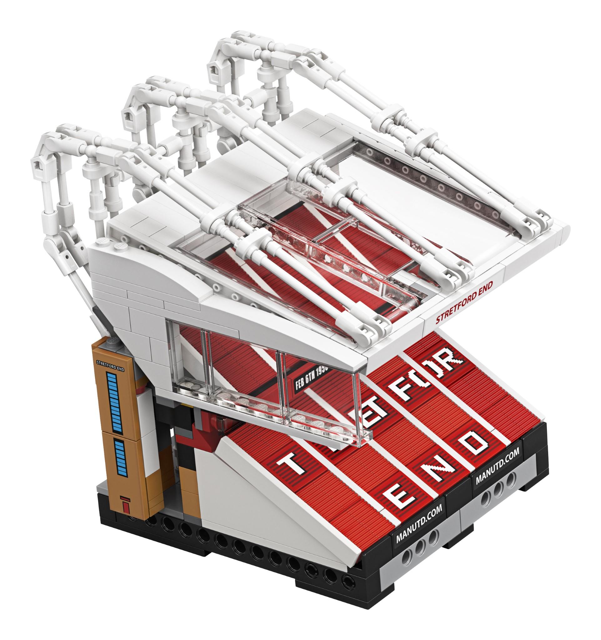 LEGO Creator Expert: presentato il set Old Trafford ...