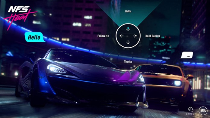 Need for Speed Heat chat