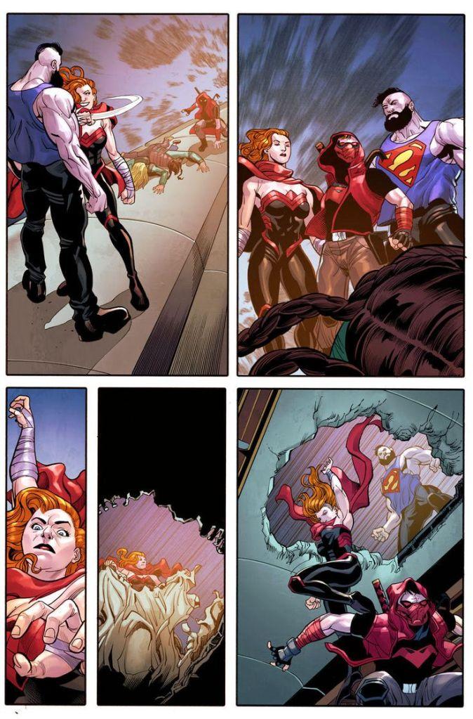 bizarro Artemis red hood Jason Todd