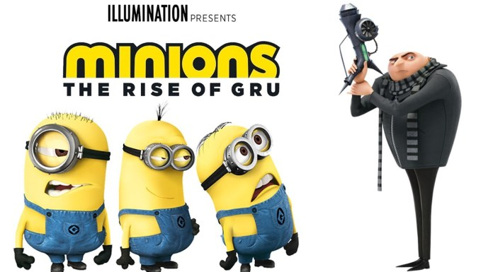 Minions: The Rise Of Gru Illumination Entertainment Universal Pictures