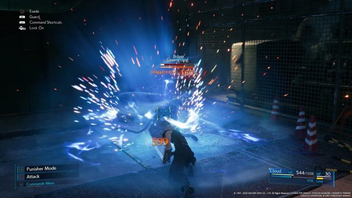 combattimento in final fantasy 7 remake