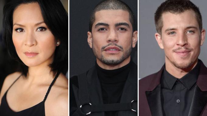 Langdon: Sumalee Montano, Rick Gonzalez e Beau Knapp Il simbolo perduto