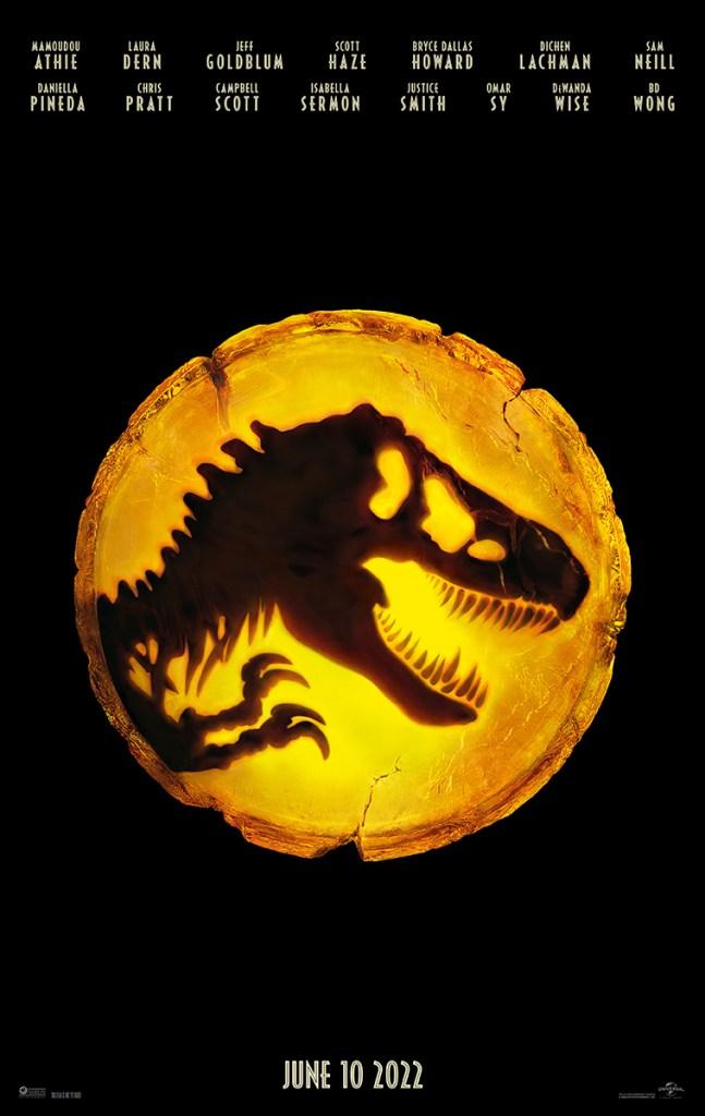Jurassic World: Dominion Poster