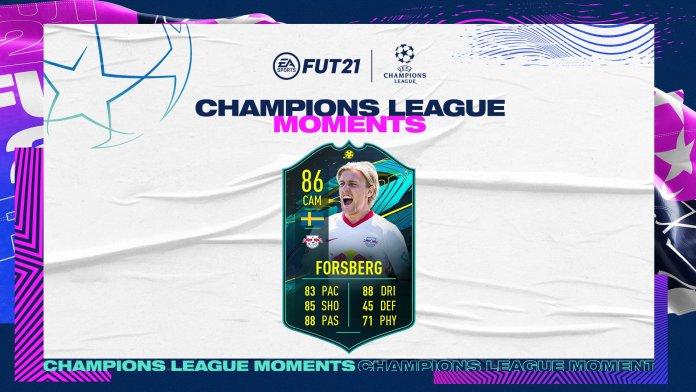 FIFA 21 - Ultimate Team - FUT - Forsberg UCL Moments SBC