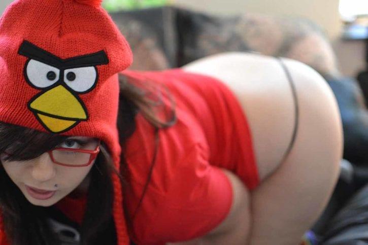 Angry Birds Girl  Nerd Porn