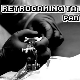 Nerd Vlog – Retrogaming Tattoo