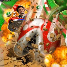 Mario Kart Arcade GP VR – La realtà virtuale, quella figa.