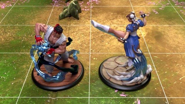 Street Fighter: The Miniatures Game - Novità su Kickstarter Videogames