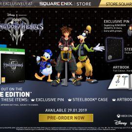 Kingdom Hearts 3 – La Deluxe Edition disponibile per il preorder su Amazon
