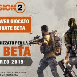 The Division 2 – Da domani al 4 marzo la Beta Pubblica!