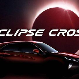 Mitsubishi Eclipse Cross si tinge di tenebra nell'edizione Knight