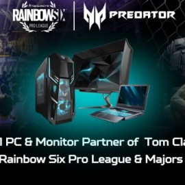 Tom Clancy's Rainbow Six Pro League – Parte la stagione X sponsorizzata da Acer Predator