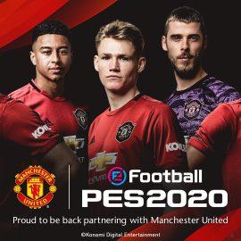 Konami e Manchester United annunciano un accordo di partnership di lunga durata