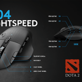Mouse Wireless Logitech G604 Lightspeed – Offre ai giocatori il pieno controllo!