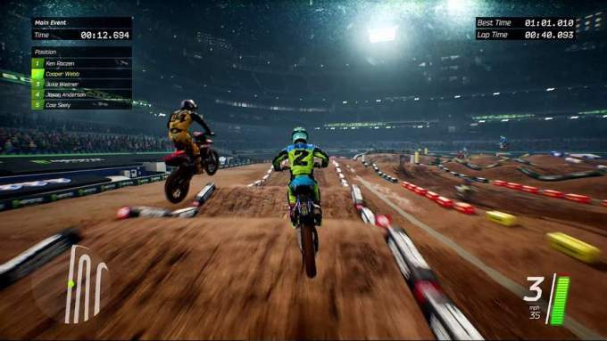 Monster Energy Supercross 3 - Nuovo video a ritmo di rap! Comunicati Stampa Videogames