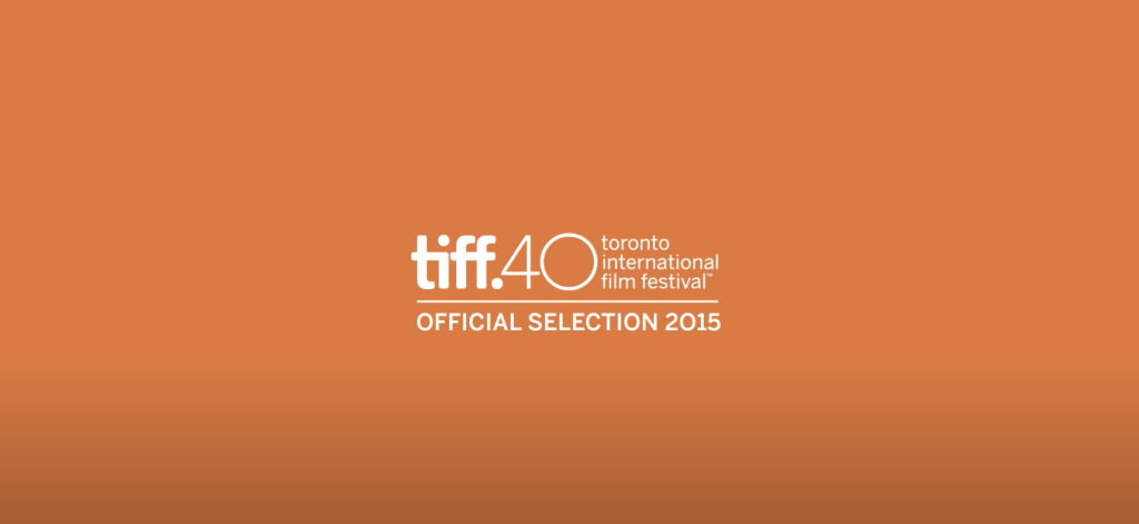 Tiff. Toronto International Film Festival