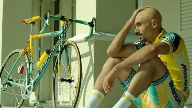 Immagine tratta dal film IL CASO PANTANI