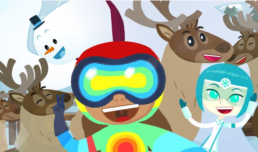Andrea Giuliacci, famoso metereologo, diventa un cartone animato in MeteoHeroes! Cartoni Animati Comunicati Stampa