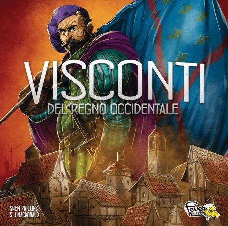 Nuove uscite Fever Games - Visconti e Cronache del Regno Occidentale Comunicati Stampa Giochi da Tavolo