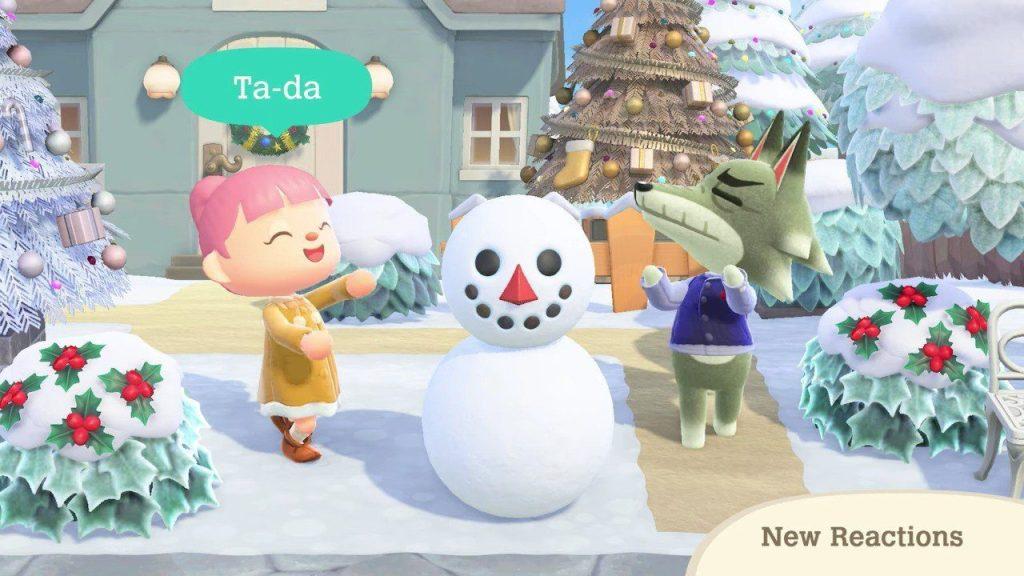 Festeggia in Animal Crossing: New Horizons con le attività stagionali e l'aggiornamento invernale Comunicati Stampa Giochi SWITCH Videogames