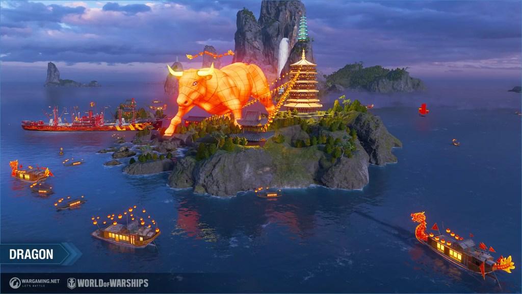 World of Warships - Lancia l'evento Capodanno lunare 2021! Comunicati Stampa Videogames