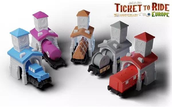 Nuova edizione limitata di Ticket to Ride Europa 15th Anniversary Giochi Giochi da Tavolo News