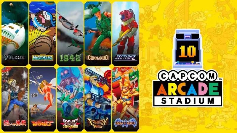Capcom Arcade Stadium è su Nintendo Switch News Retrogames SWITCH Videogames