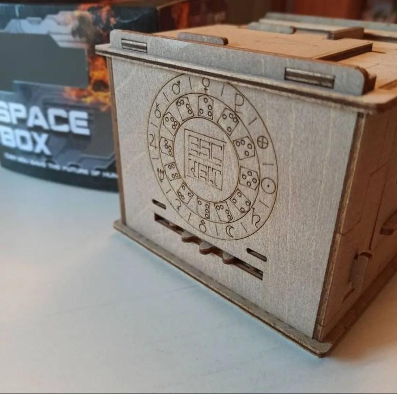 Escape Welt The Space Box