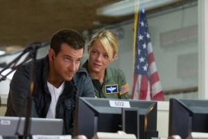 Bradley Cooper and Emma Stone in Alo