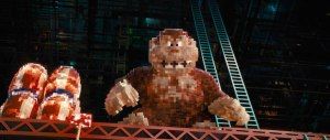 Donkey Kong appears in Pixels
