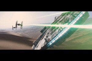 The Millennium Falcon returns in Star Wars: The Force Awakens