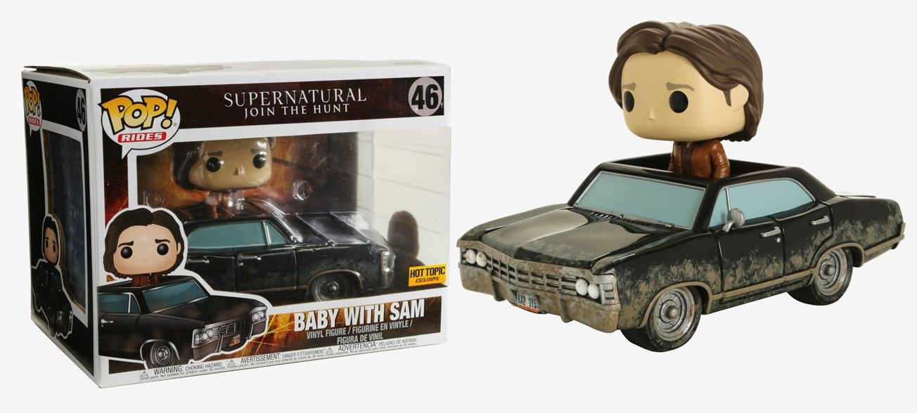 Supernatural Baby With Sam Funko Pop Available Online