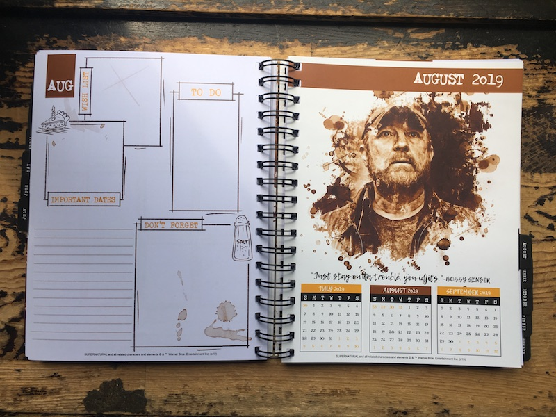 This is a photo of John Winchester Journal Pages Printable throughout vampire hunter