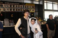 Cameron and Ali as Han Solo and Leia Organa, @cameronhersey on Twitter.