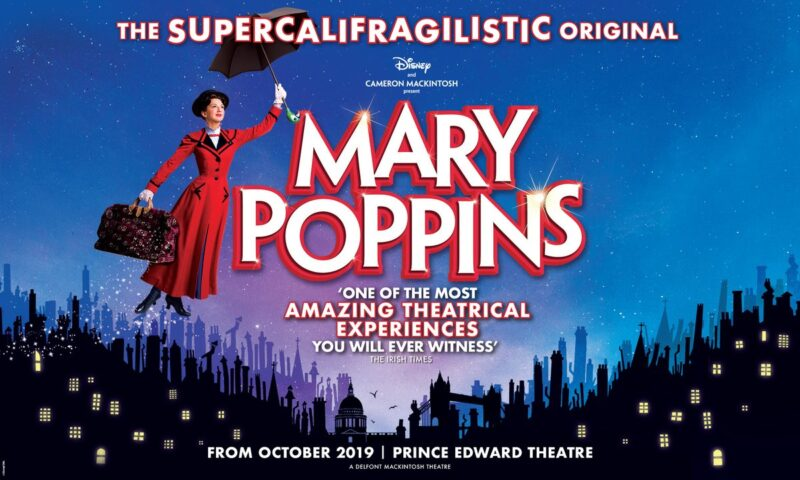 Image result for mary poppins london logo