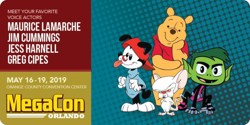 Winnie the Pooh, Wakko Warner, and More Added to MegaCon