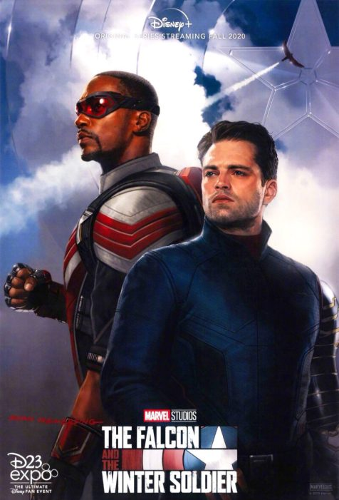 Image result for FALCON AND WINTER SOLDIER poster