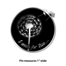 I Wish For This pin. Image courtesy of Stands