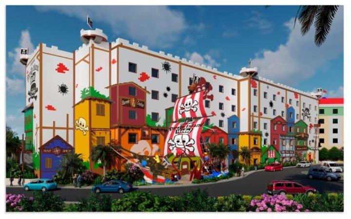 Treasure Island Pirate Show 2020.First Look Legoland Florida Pirate Island Hotel Opening