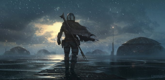 The Mandalorian Incredible Concept Art From Chapter 1 Nerds And Beyond