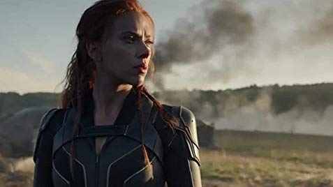 Catch A Special Look At Natasha Romanoff In A New Black