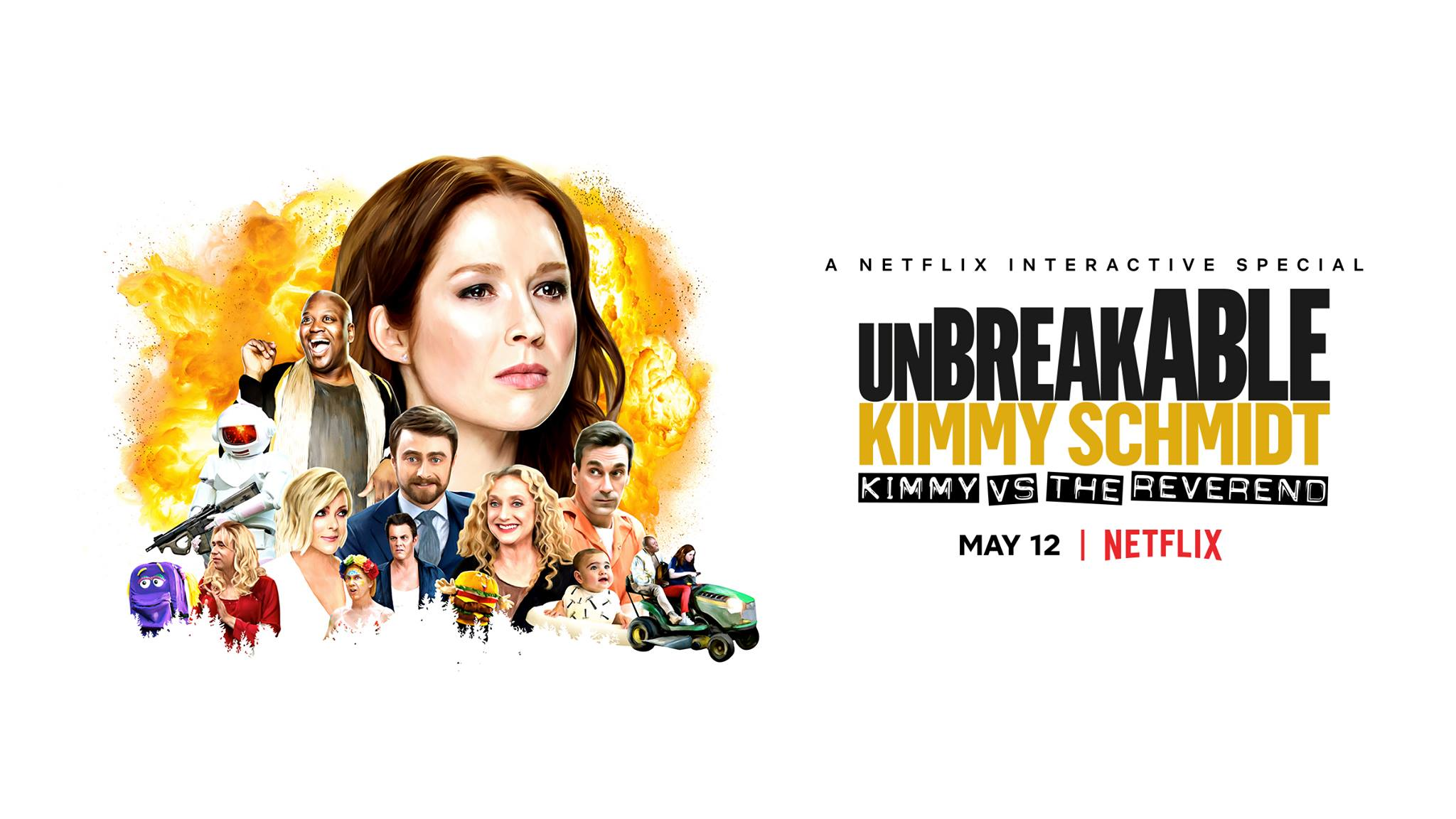 Netflix Releases Trailer for 'Unbreakable Kimmy Schmidt ...