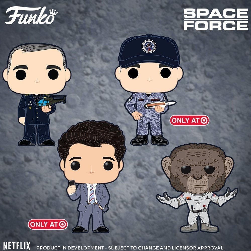 'Space Force' Funko Pop!s Are Ready For Lift Off!