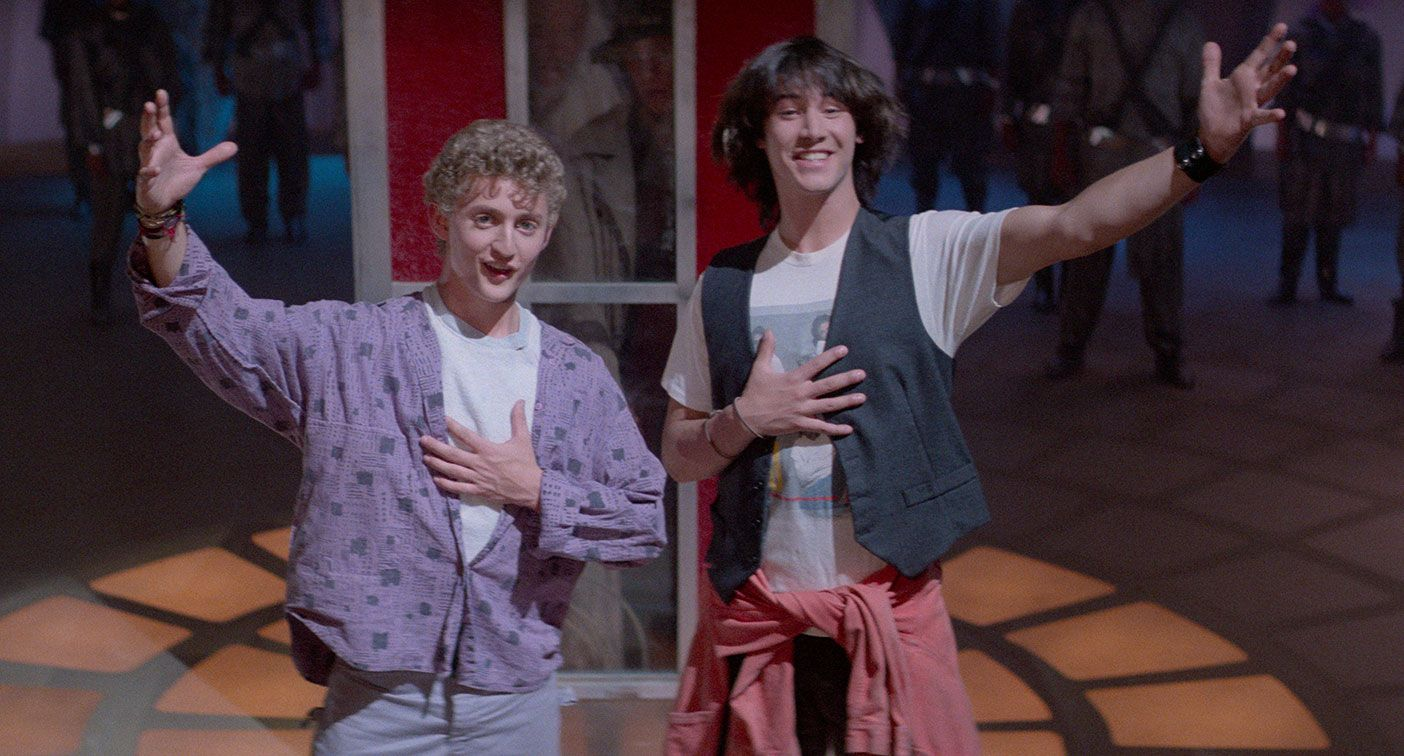 why bill and ted have stood the test of time - nerds and
